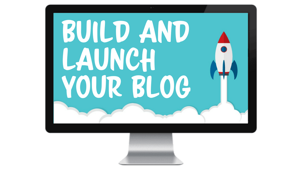 build and launch your blog course