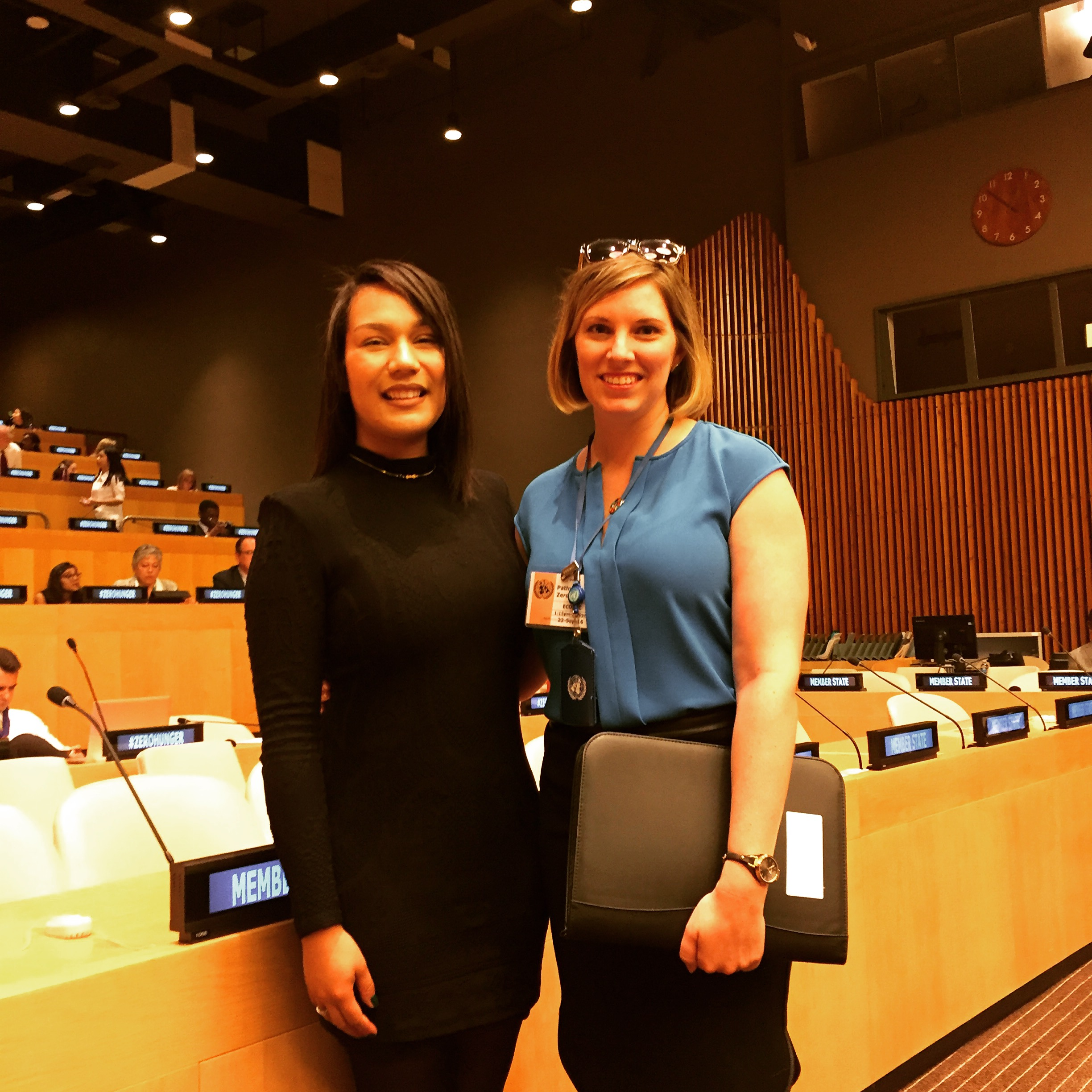 With Ashley Baxstrom, Policy Advisor at the United Nations