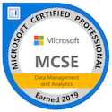 MCSE: Data Management and Analytics — Certified 2019