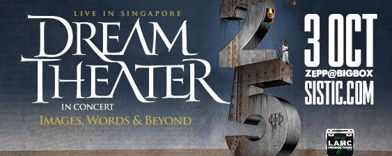 Dream Theater's Images, Words & Beyond Tour Singapore