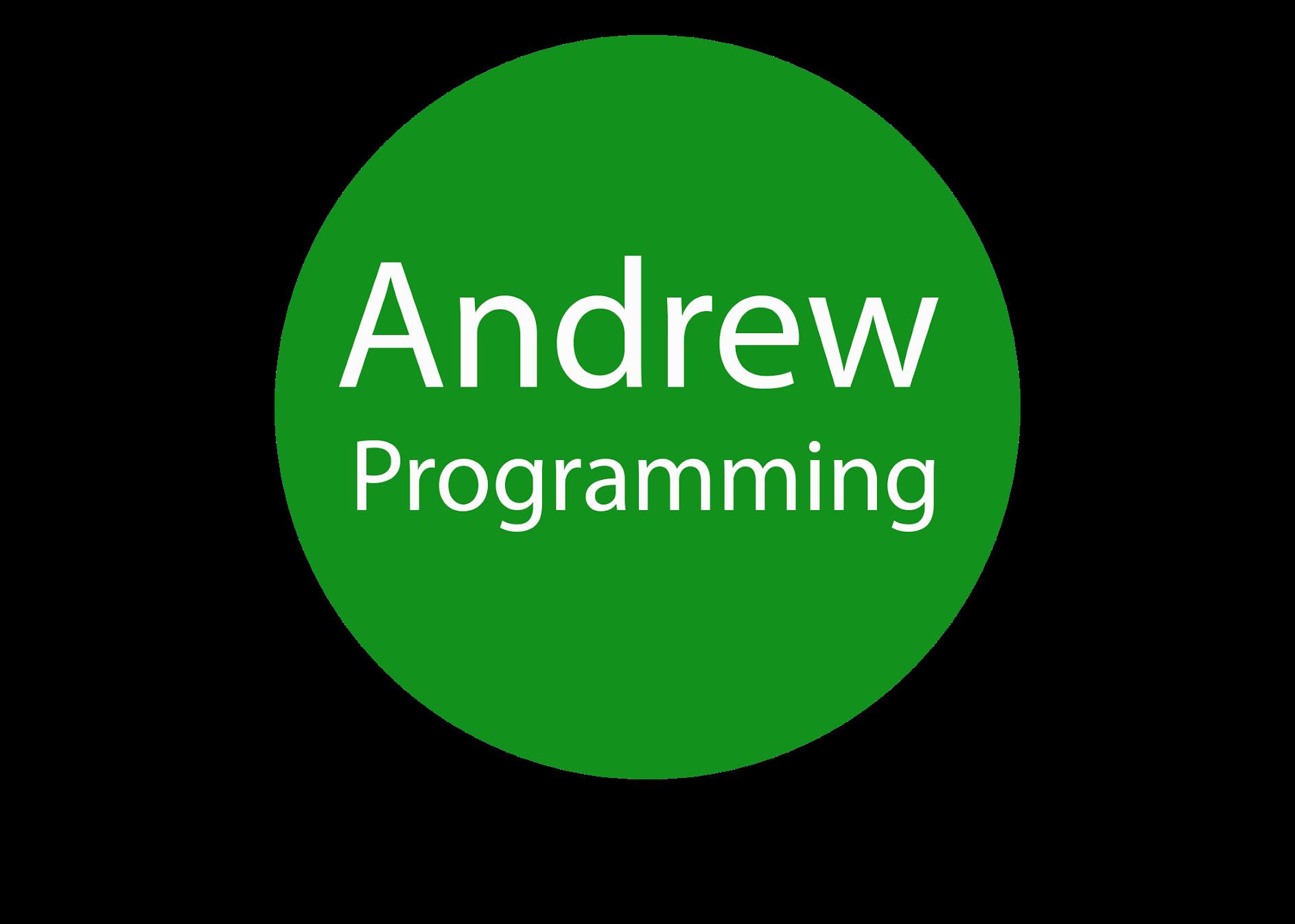Andrew Programming