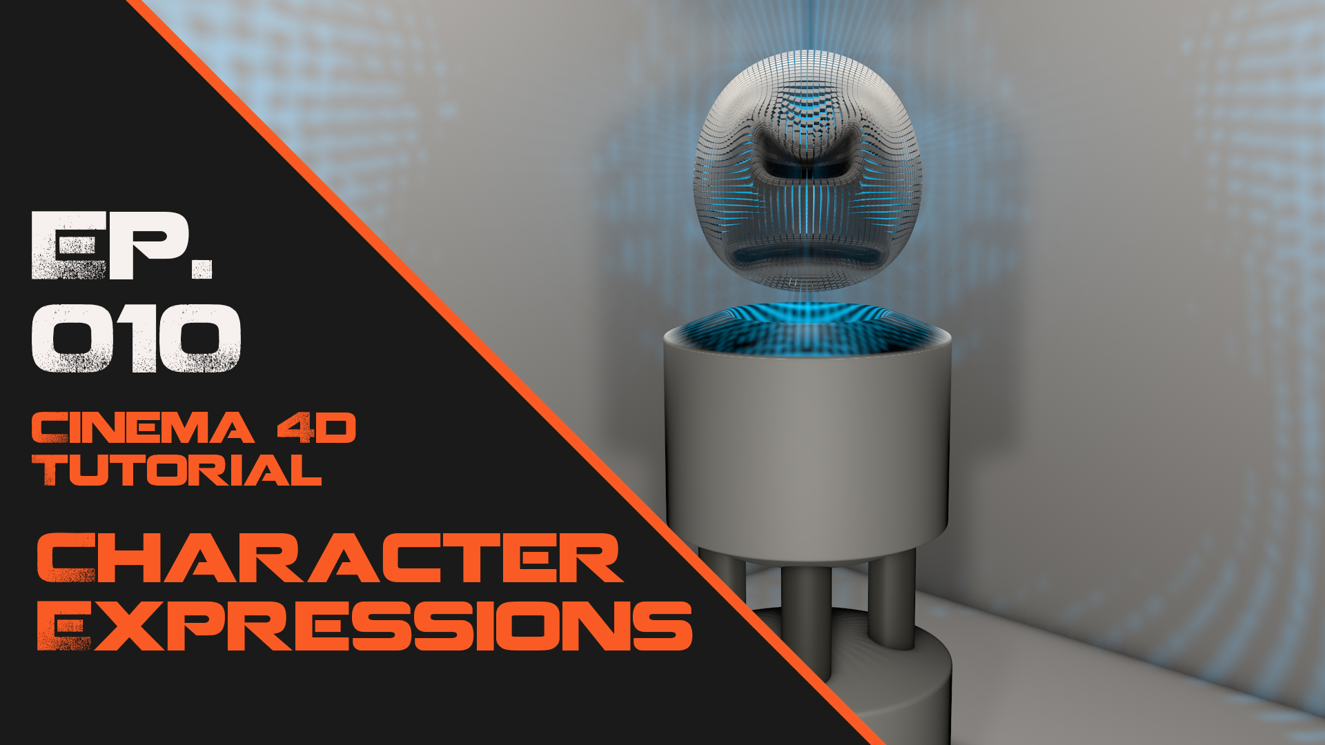 Artificial Intelligence Character FX in Cinema 4D