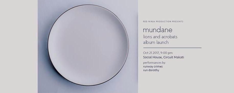 Mundane: Lions and Acrobats album launch