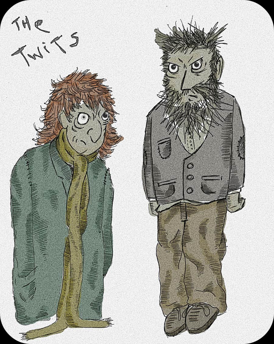 T'WAS WHICH TWITS?
