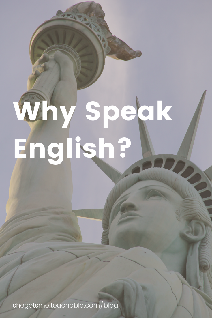 Why speak English? Have you lost your motivation to speak English? Will you ever be fluent in English? Should you give up? 10 reasons to speak English. Pourquoi parler anglais ? As-tu perdu ta motivation de parler anglais ? Tu rêves de parler courramment anglais ? Devrais-tu abandonner ? 10 raisons pour parler anglais.