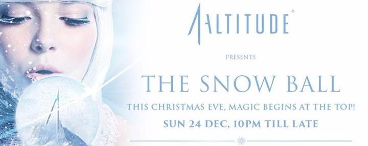 1-Altitude X Roku Gin presents The Snow Ball