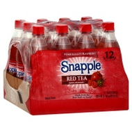 Pomegranate Raspberry Red Tea from Snapple
