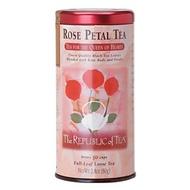 Rose Petal Tea from The Republic of Tea