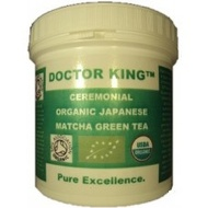 DOCTOR KING Ceremonial Organic Japanese Matcha Green Tea (Premium, Top Grade (Grade A), First Harvest Matcha) from DOCTOR KING & COMPANY