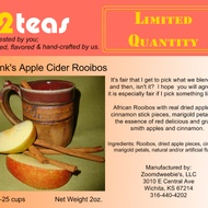 Frank's Apple Cider Rooibos from 52teas