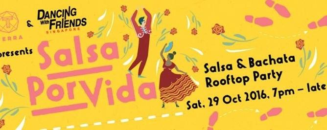 Salsa Por Vida Rooftop Party