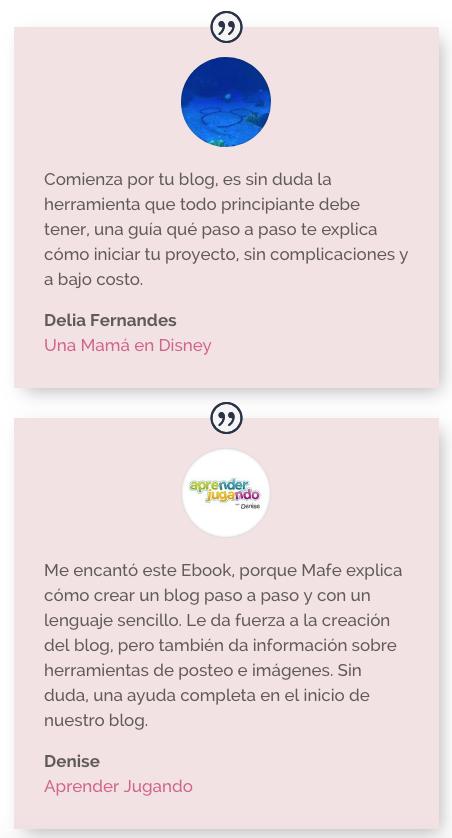 eBook - Comienza por tu blog