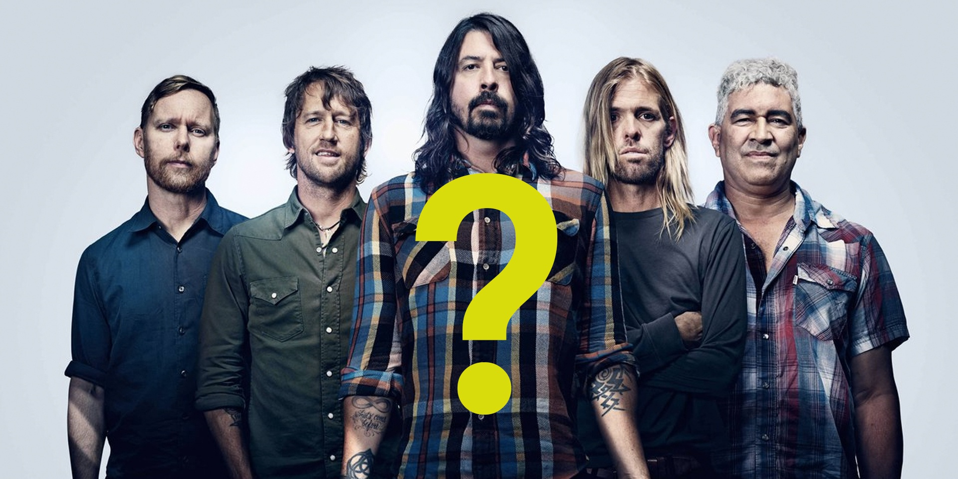 Is Neon Lights hinting at Foo Fighters for their next line-up?