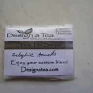 Zabaglione Amaretto Black Tea from Design a Tea