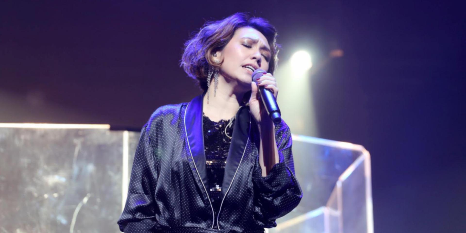 陈洁仪庆出道25周年 演唱会上翻唱本地独立乐团歌曲