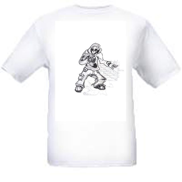 image: Urban Alien White Tee L-XL Limited Supply. $15.00 Free shipping inside continental U.S.