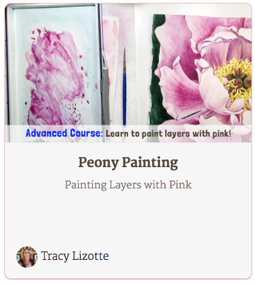 How to Paint a Peony Course