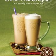 chai tea latte from The Coffee Bean & Tea Leaf