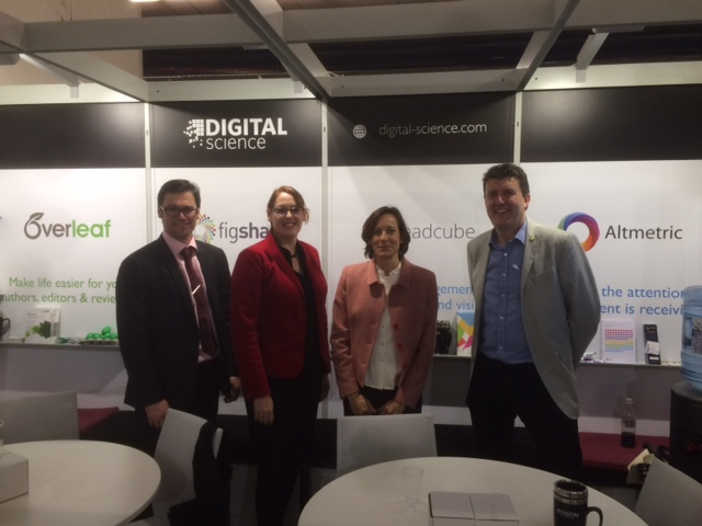 The Digital Science publisher team at Frankfurt Bookfair 2015