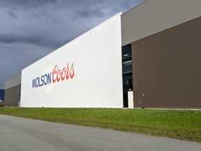 picture from Molson Coors Fraser Valley Brewery