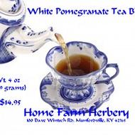 White Pomegranate Tea Blend from Home Farm Herbery