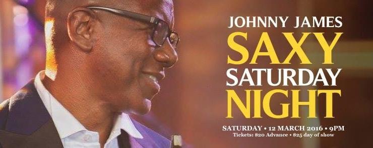 SINGJAZZ SAXY SATURDAY: Johnny James