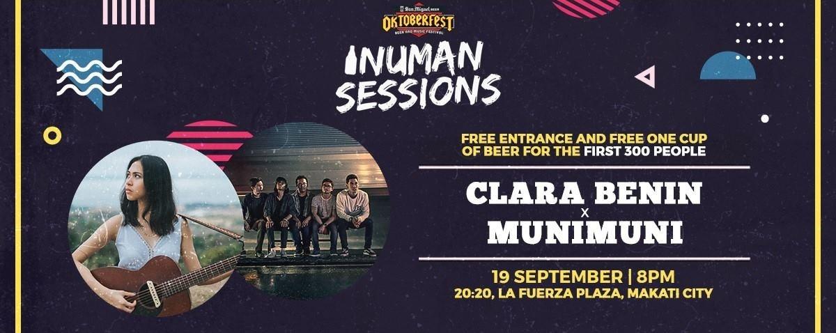 Oktoberfest Inuman Sessions - Clara Benin x Munimuni