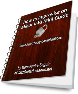 Improvise on the Minor II-V-I Mini Guide