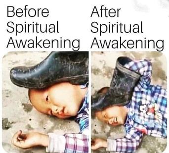 Before & After Spiritual Awakening
