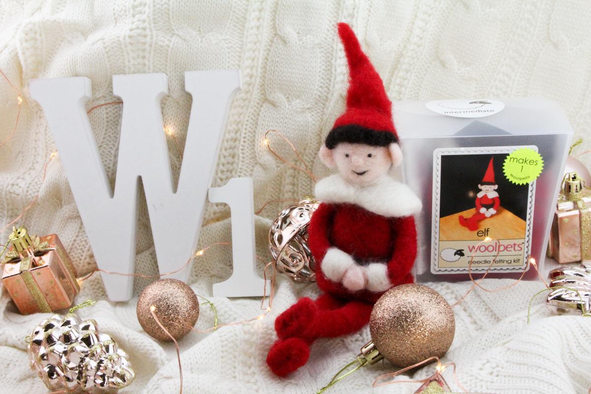 Woolpets Elf Needle Felting Kit