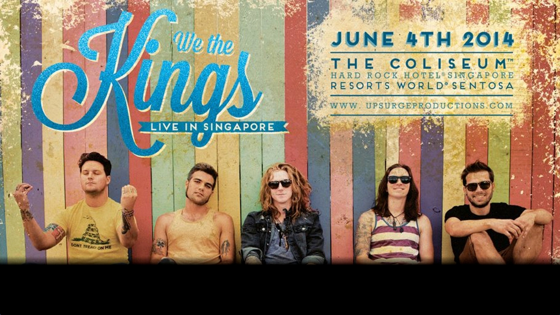 We The Kings Live In Singapore