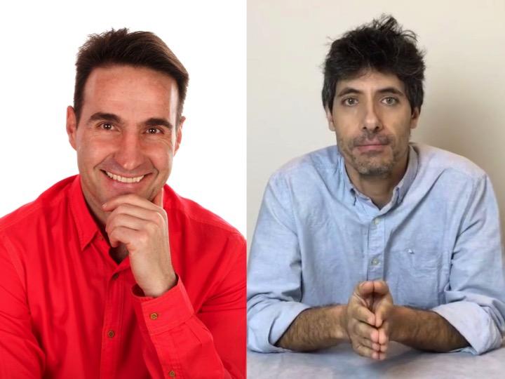 Jose Sánchez y Jason Smith