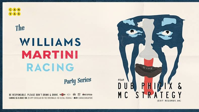 Williams Martini Racing® Party Series Day 2 ft. DUB PHIZIX & STRATEGY MC (Exit Records, UK)