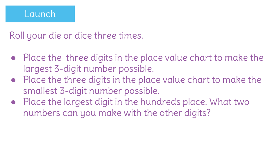 Compare Three Digit Numbers Using Math Symbols By