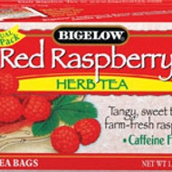 Red Raspberry Herbal Tea from Bigelow