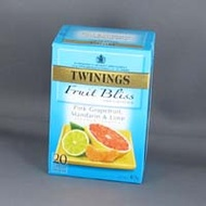 pink grapefruit, lime and mandarin from Twinings