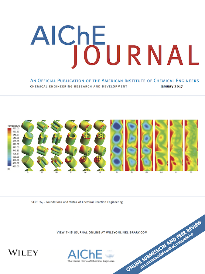 Template for submissions to AIChE Journal