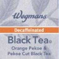 Decaf Black Tea from Wegmans