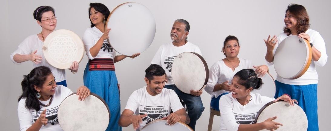Esplanade Presents: Red Dot August - Drum Prodigy Singapore: The Frame Drum Ensemble