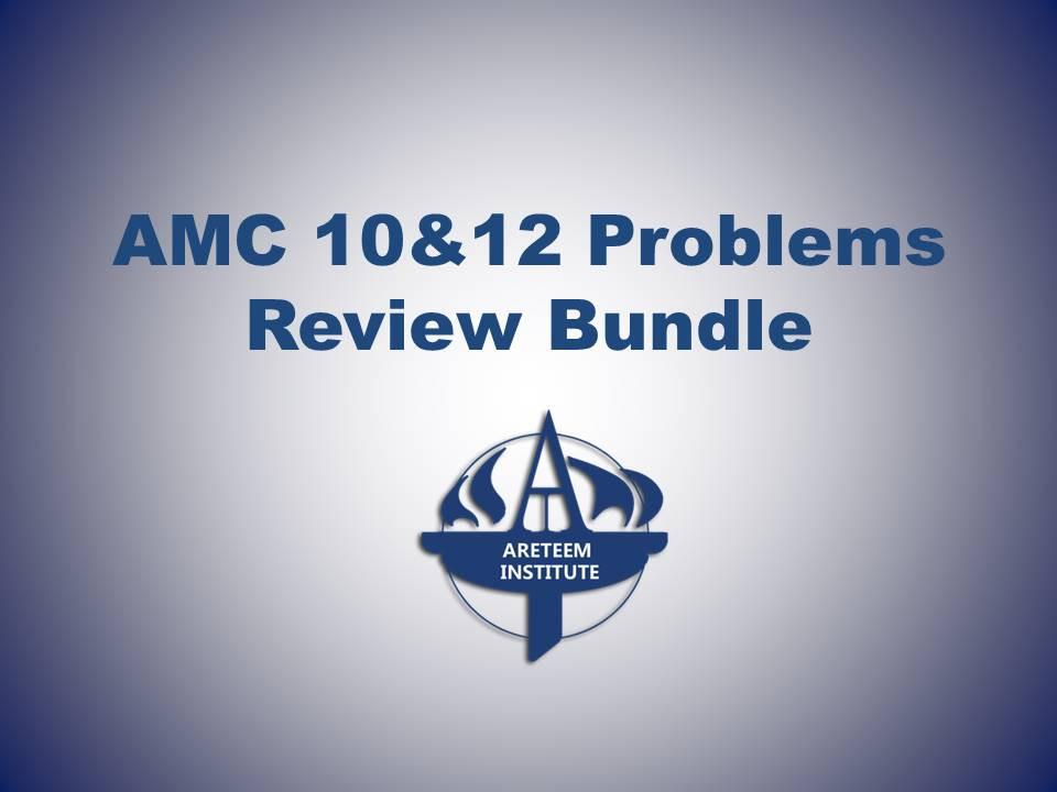 AMC 10 & 12 Problems Review Bundle | Edurila