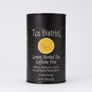 Lemon Herbal Tea from Tea District