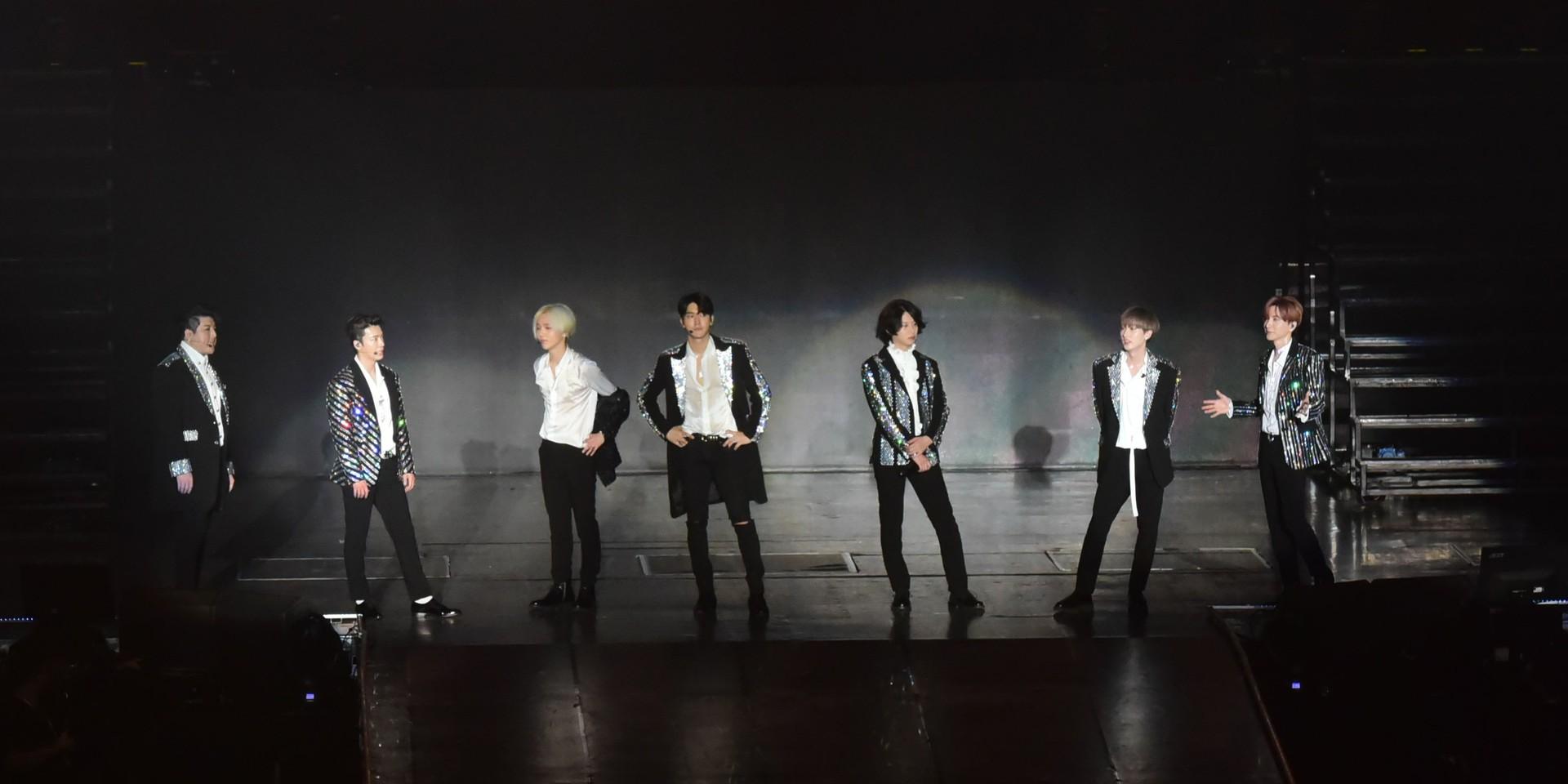 Super Show 7圓滿落幕  Super Junior僅七人氣勢不減
