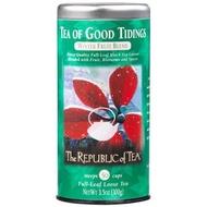 Tea of Good Tidings from The Republic of Tea