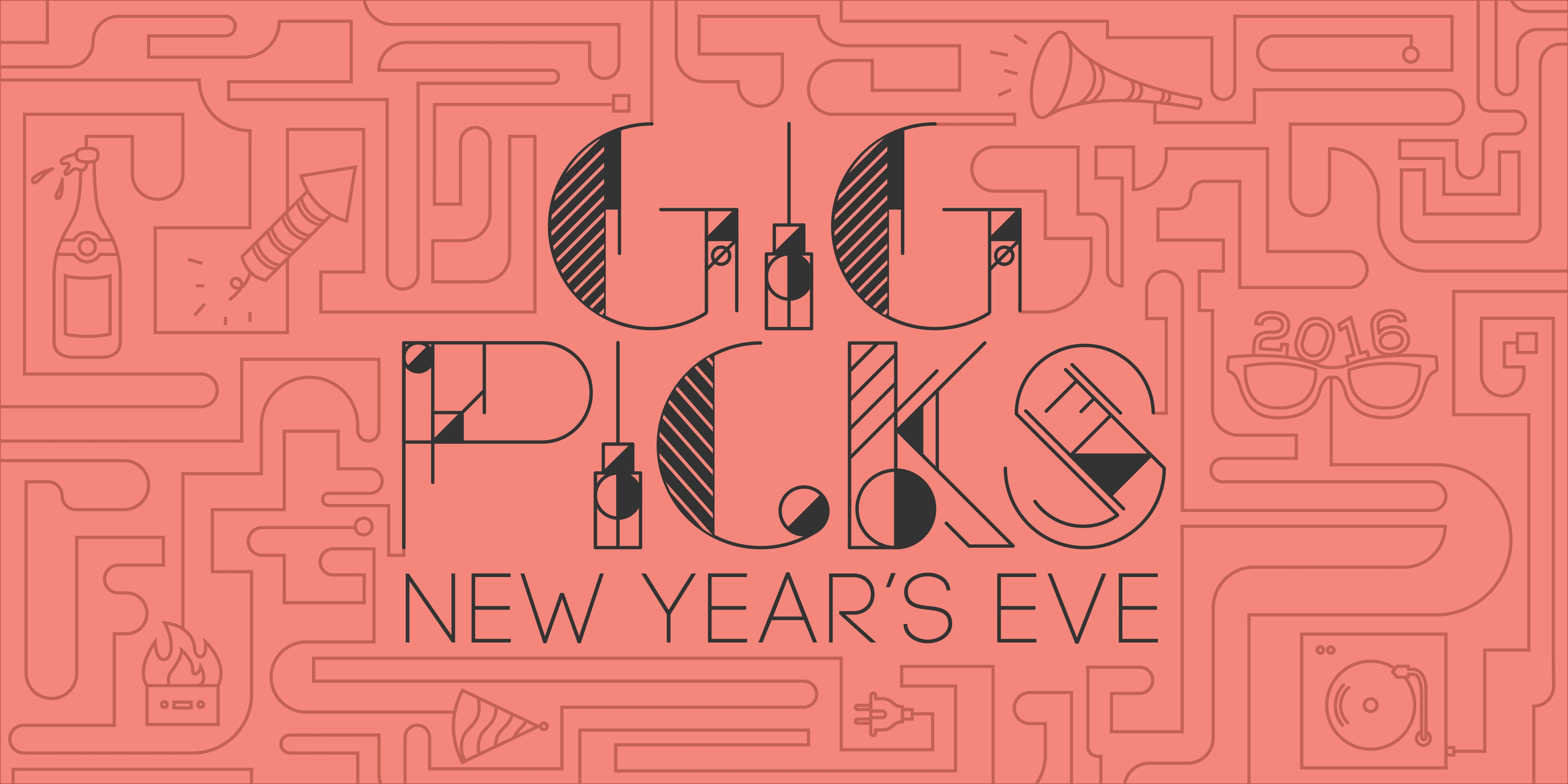 Bandwagon Gig Picks: New Year's Eve 2015