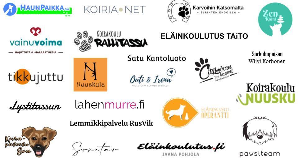 Eläinkoulutus.fi yhteistyökumppanit