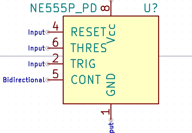 Figure 14: Input pins are placed on the left side