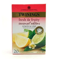 Lemon & Lime (Holiday Limited Edition) from Twinings