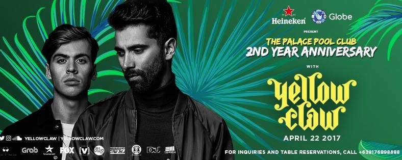 The Palace Pool Club's 2nd Year Anniversary with Yellow Claw