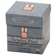 Organic Darjeeling Black Pyramid Tea from Equal Exchange