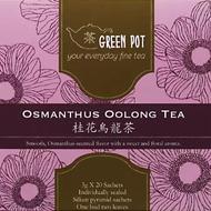Osmanthus Oolong Tea from Green Pot